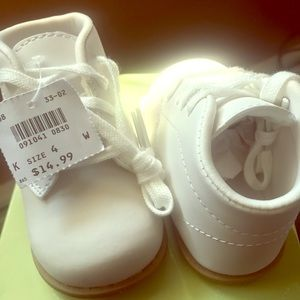 TRADITIONAL 1ST WALKER HIGH-TOP SNEAKER - KIDS'